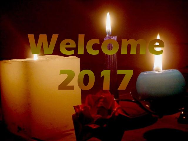 Welcome 2017 Happy New Year Best Wishes