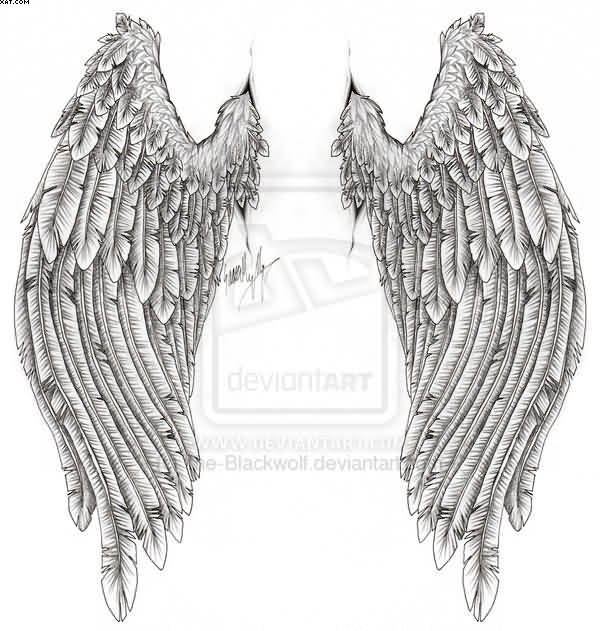Wings Tattoos Design Sample For Everybody