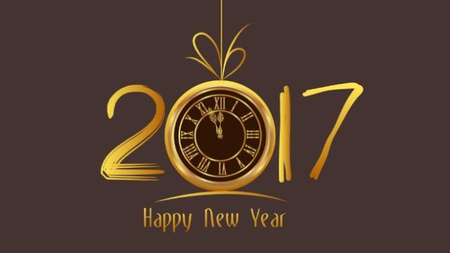 Wish You A Very Happy New Year 2017 Image