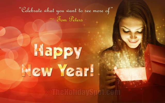 Wish You A Very Happy New Year Greetings Image