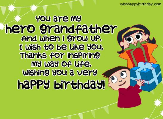 Wishing You A Very Happy Birthday Grandfather Wishes Image