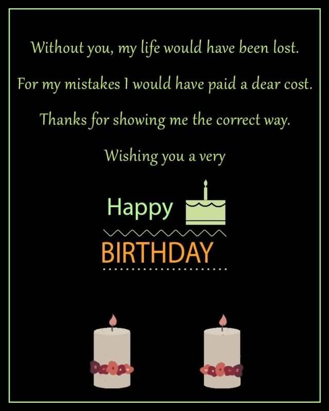 Wishing You A Very Happy Birthday Greeting Image