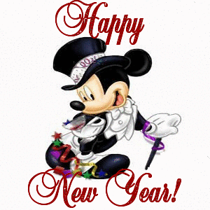 Wishing You Happy New Year Animation Picture