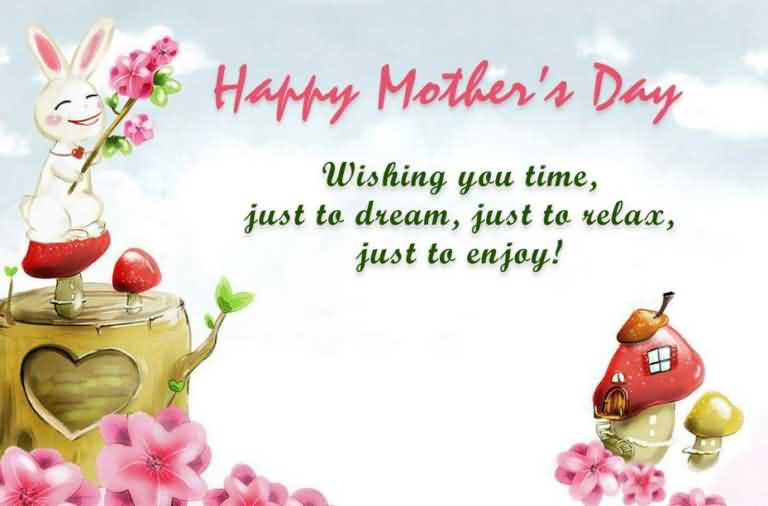 Wishing You A Happy Mothers Day Message Image