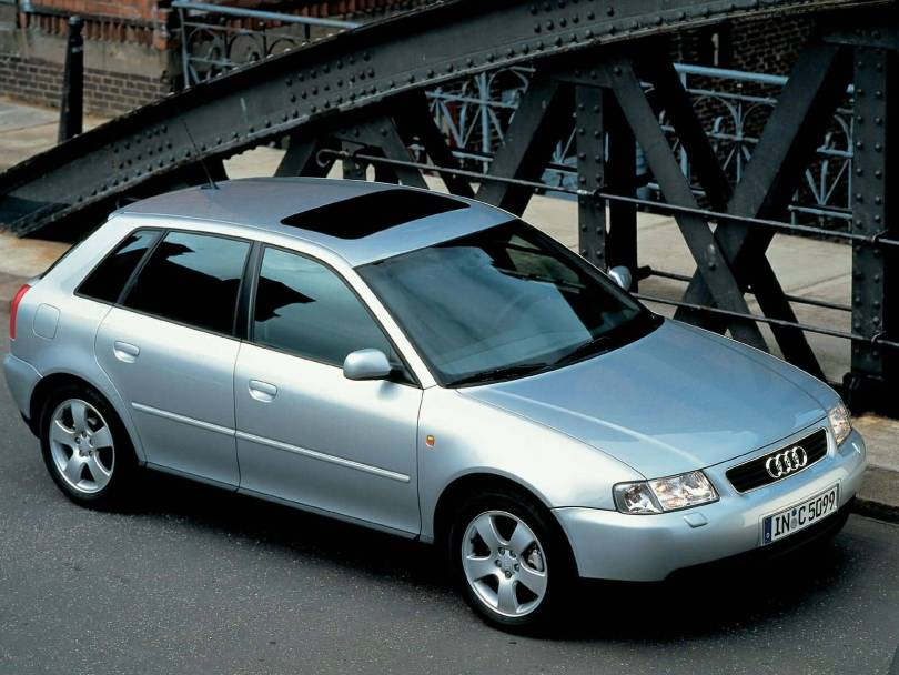 Wonderful silver colour Audi A3 car