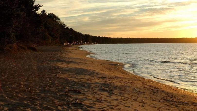 Wonderful A Beautiful Beach Full HD Wallpaper