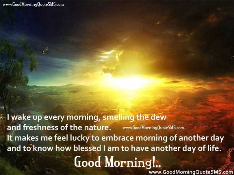 Wonderful Good Morning Wishes Quotes Image