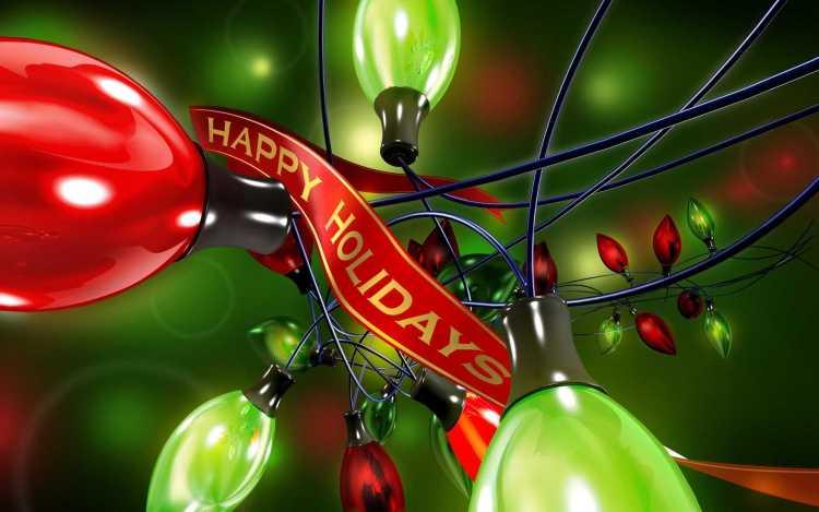 Wonderful Happy Holiday Message Image
