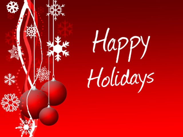 Wonderful Happy Holiday Wishes Picture