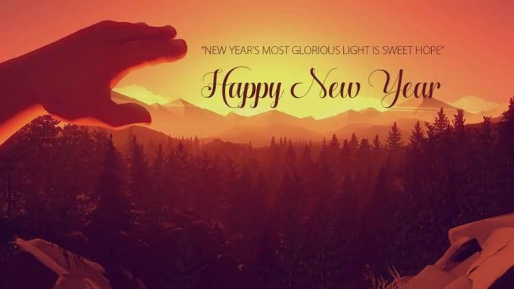 Wonderful Happy New Year Wishes Wallpaper