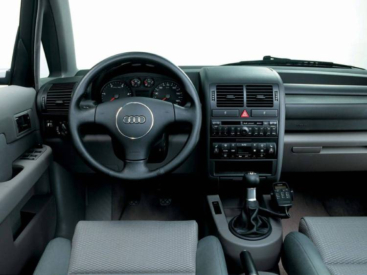 Wonderful Interior view of Audi A2 car
