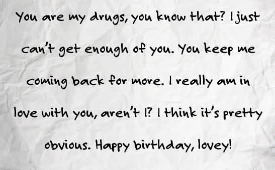 Wonderful Quotes Happy Birthday Lovey