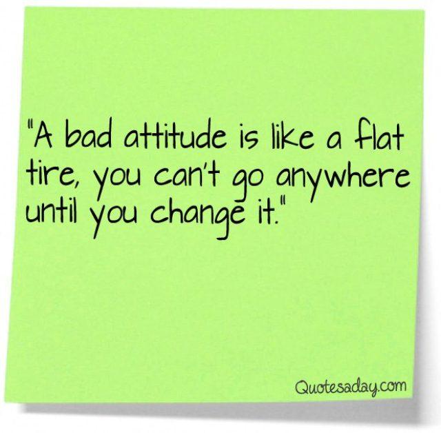 Short Attitude Quotes  038