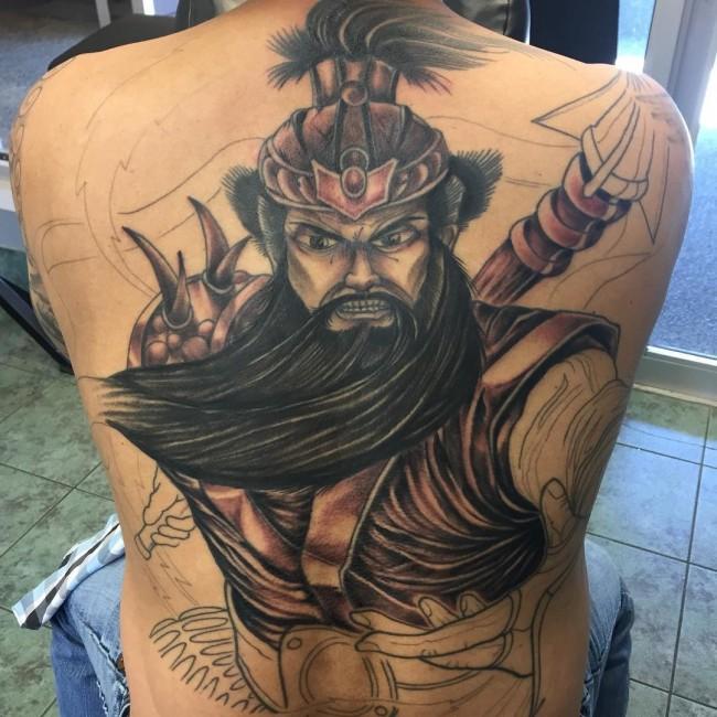 30 Energizing Back Tattoo Designs For Men & Women | Picsmine