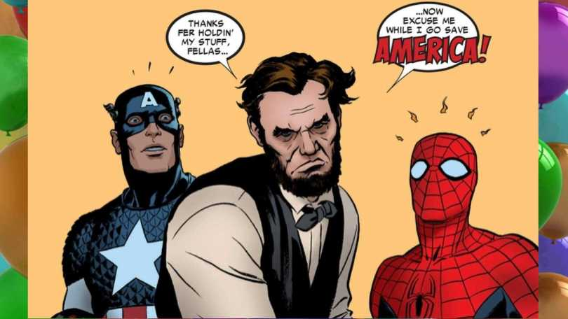 Abraham Lincoln Spiderman Meme