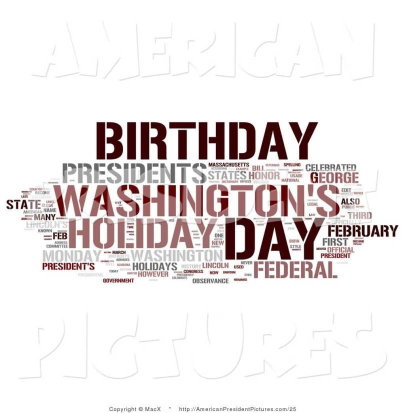 America President Washington Birthday Wishes Message Image