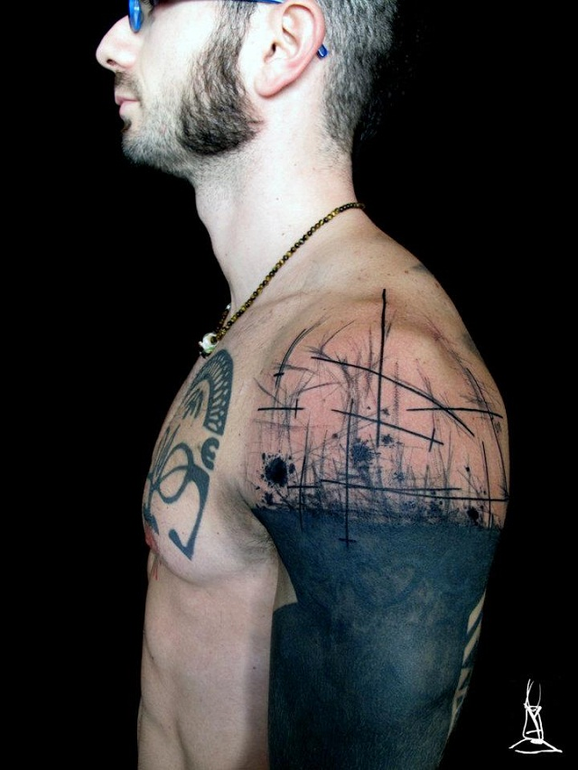 Awesome Funky Tattoo Image For Boys