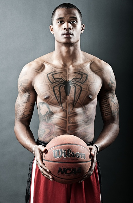 Best Ever Full Body Tattoo n Holding Basketball For Boys