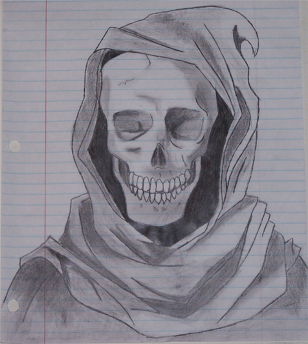 Best Ever Grim Reaper Drawing For Girls