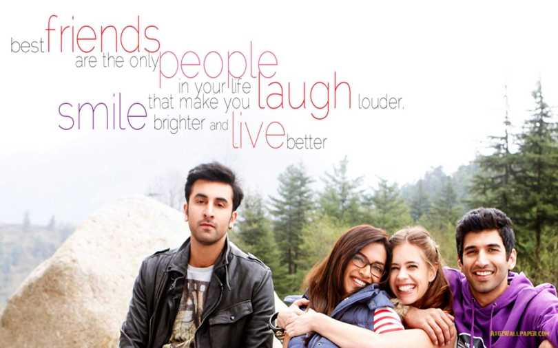 Best Friends Are The People In Your Life Quotes Happy Friendship Day