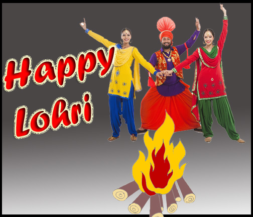 Best Greetings Of Happy Lohri Wishes Image