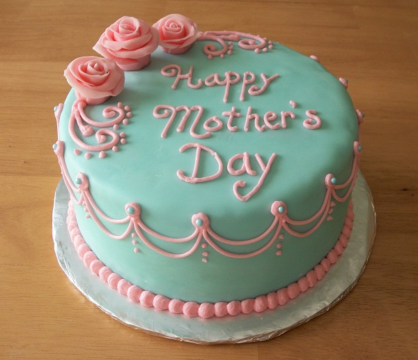 Best Mom happy Mother's Day Cake Image