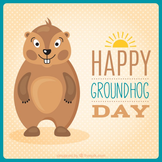 Best Wishes Groundhog Day Greetings