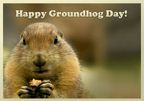 Best Wishes Happy Groundhog Day Wishes