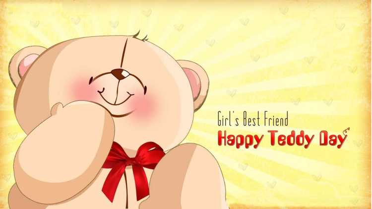 Best Wishes I Love You Happy Teddy Day Wishes Image
