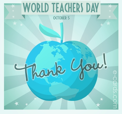 Best Wishes World Teacher's Day Greetings Images