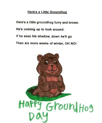 Best Wishes Happy Groundhog Day Friends