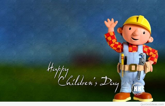 Bob The Builder Happy Children's Day Image
