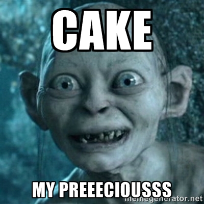 Cake My Precious Meme Photo