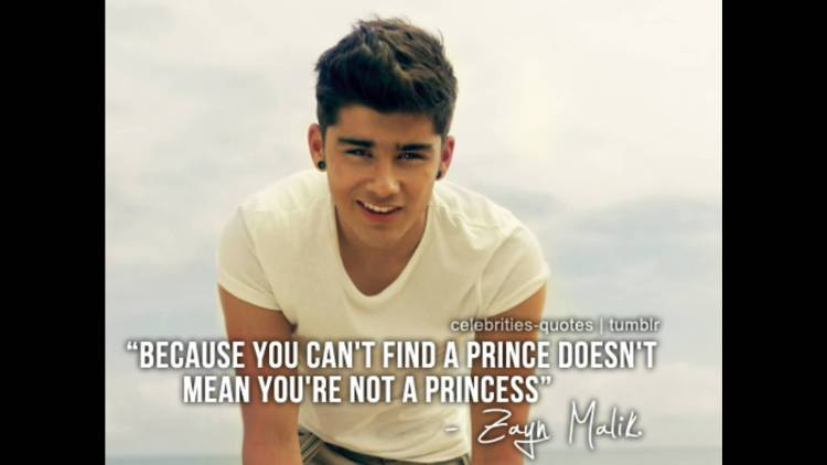 Celebrity Sayings Because You Can't Find A Prince Doesn't