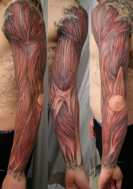 Coolest Extreme Funny Tattoo Picture For Boys