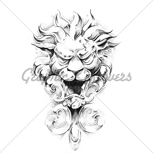 Coolest Gargoyle Tattoo Art For Boys