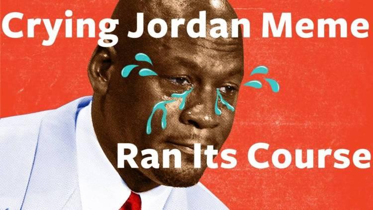 Crying Jordan Meme Rant Its Course Meme Photo