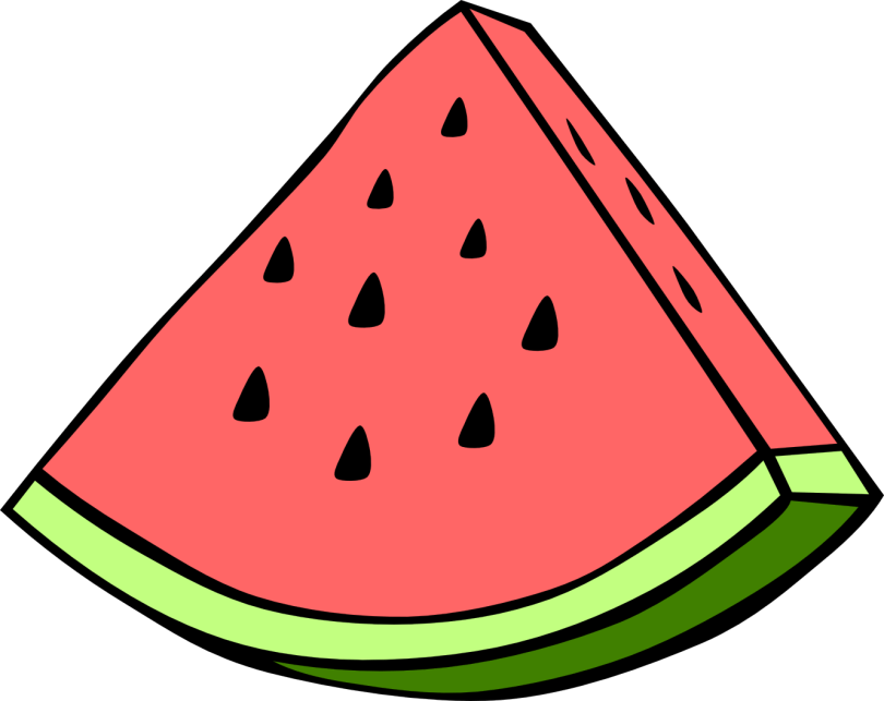 Custom Watermelon Fruit Tattoo Design For Boys