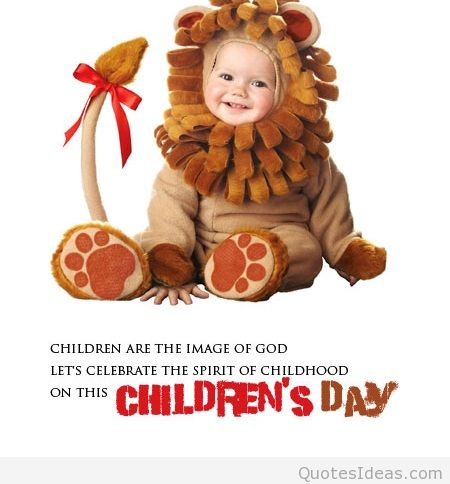 Cute Children's Day Wishes Image