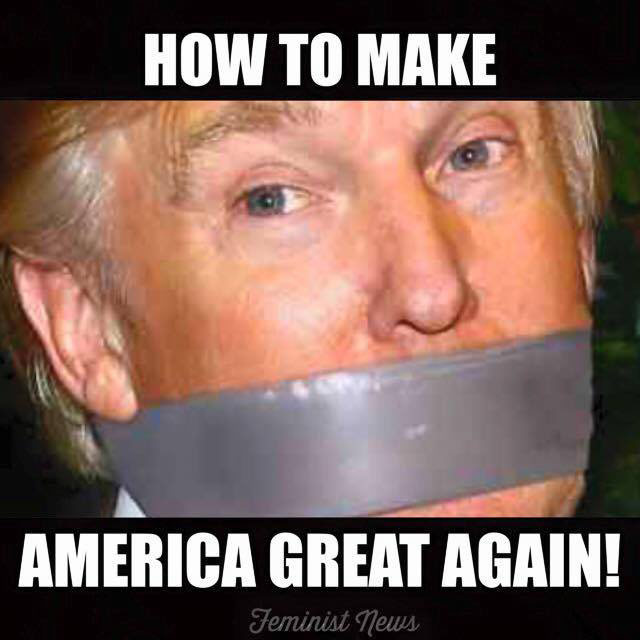Donald Trump Funny Meme How To Make America Great Again