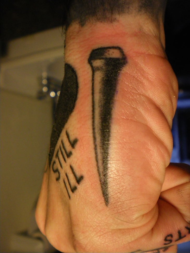 Extremely Hand Tattoo For Boys