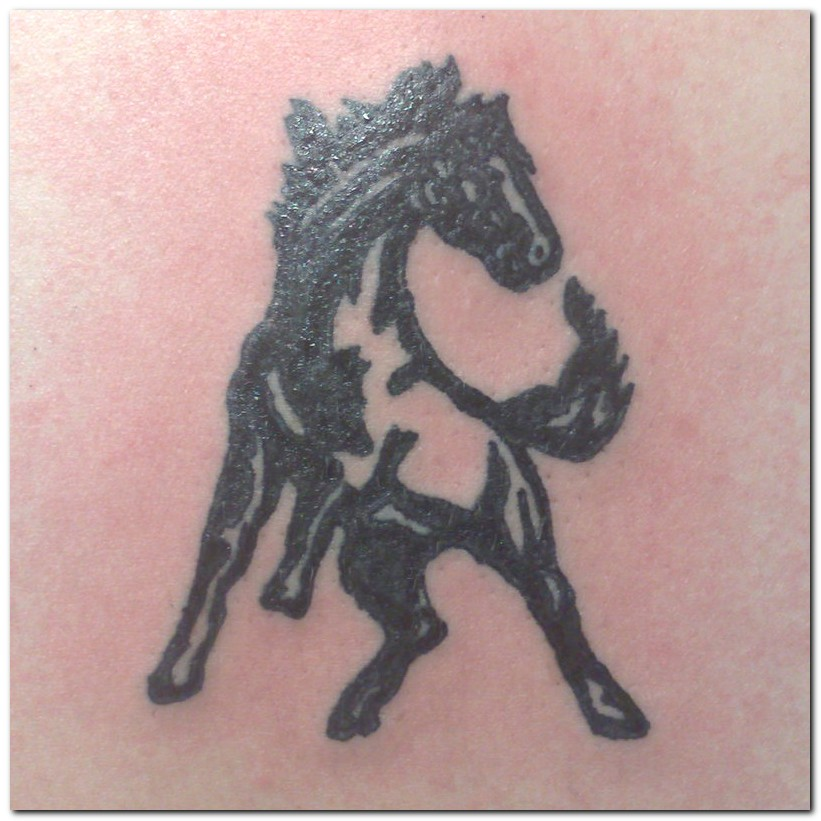 Fabulous Horse Tattoo Design Picture For Boys