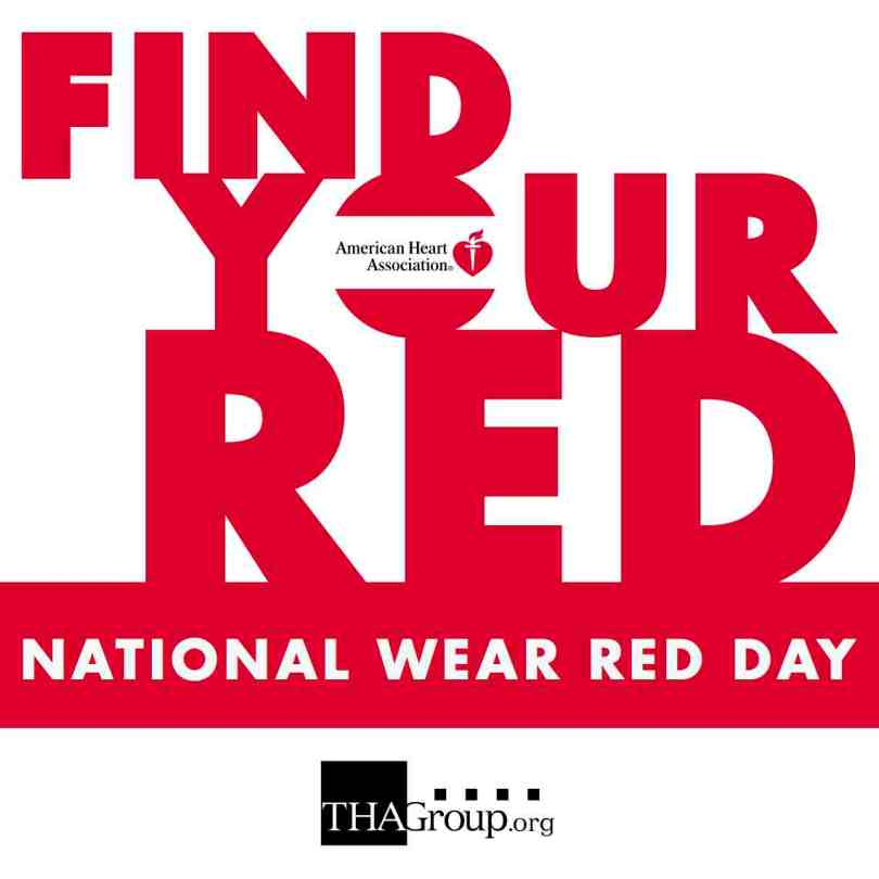 Find You Red National Wear Red Day Wishes Image