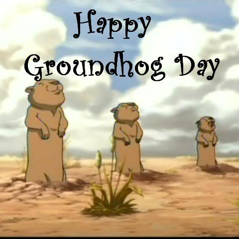 For Best Friends Happy Groundhog Day Wishes