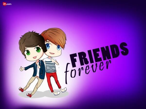Friends Forever Greetings Image