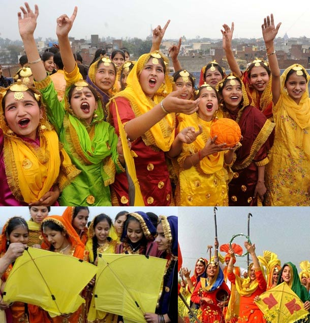 Girls Celebration Vasant Panchami To You Wishes Image