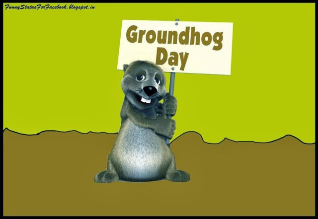 Groundhog Day Wishes Image