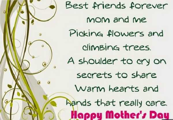 Hands That Really Card Happy Mother's Day Wishes Image