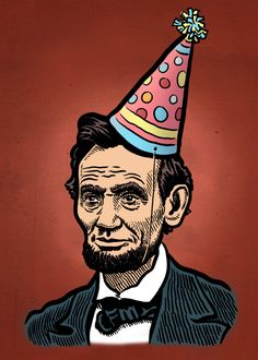 Happy Birthday Great President Lincoln Funny Image