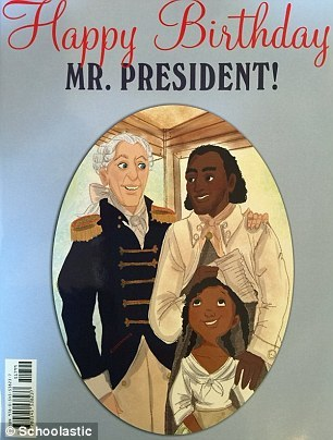 Happy Birthday Mr. President Sir George Washington Wishes Card Image